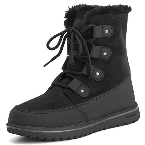 574ee3947 Polar Products Womens Waterproof Durable Snow Winter Hiking Fleece Ankle  Boots