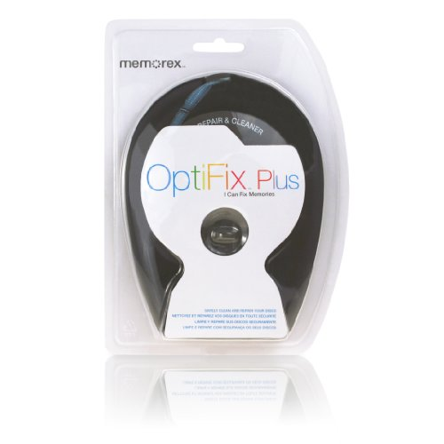 [Memorex Optifix Plus CD/DVD/Game Repair Kit] (Memorex Optifix Cleaning Kit)