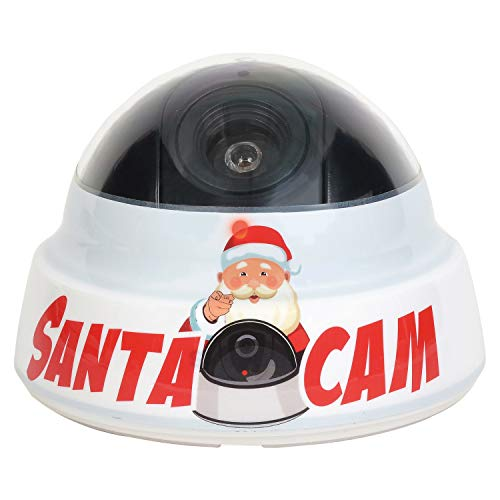 Department 56 Santa Cam Red Blinking Simulated Camera and Book Set, 3.54 Inch, Multicolor