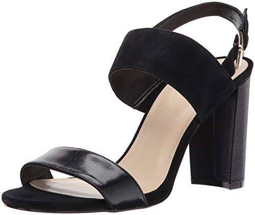 Nine West Women's Narolyn Suede Heeled Sandal Black Suede cheap sale wholesale price outlet 2014 free shipping visa payment clearance wiki 2p5Q9nXQ6i