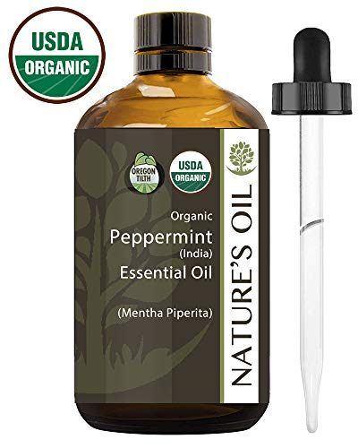 Best Peppermint Essential Oil Pure Certified Organic Therapeutic Grade 60ml (Best Organic Peppermint Oil)