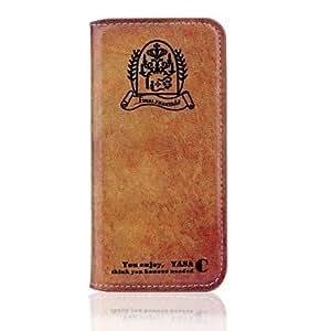 GX restaura las maneras antiguas fundas de cuero de la PU con el libro stand de dios para el iphone 6