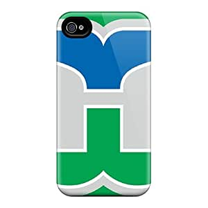 Shock Absorption Hard Cell-phone Case For Iphone 6plus With Support Your Personal Customized Lifelike Hartford Whalers Skin DrawsBriscoe