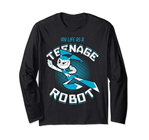 Robot Jenny Long Sleeve T-Shirt ()