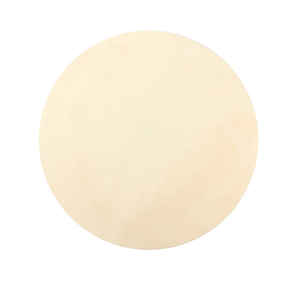 Dracarys 15'' Round Pizza Stone Baking Stones for Grill and Oven,Big Green Egg Accessories,Heavy Duty Ceramic Pizza Grilling Pan,Thermal Shock Resistance Perfect for Baking Crisp Crust Pizza by Dracarys