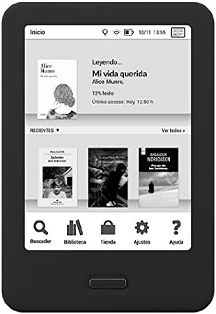 BQ Cervantes 4G - E-Reader de 6 Pulgadas (E Ink Pearl, 758 x 1 024, Freescale