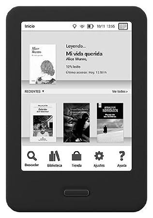 BQ Cervantes 4G - E-Reader de 6 Pulgadas (E Ink Pearl, 758 x 1 024 ...