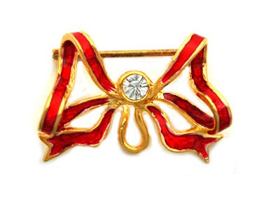 Faberge Style Brooches -