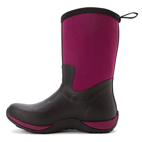 2015 new online outlet where can you find Muck Boots Women's Arctic Weekend Wellington Boots Black (Black/Maroon) PNQKHg