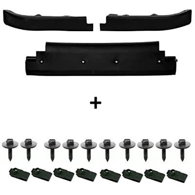 Image of Air Dams C5 Corvette Front Lower Spoiler Air Dam Complete Kit with Upgraded Mounting Hardware Fits: All 97 through 04 Corvettes