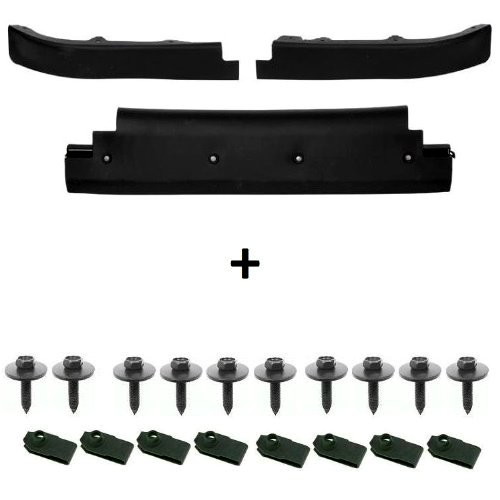 C5 Corvette Front Lower Spoiler Air Dam Complete Kit with Upgraded Mounting Hardware Fits: All 97 through 04 - Kit Complete Body C5