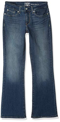 Signature by Levi Strauss & Co. Gold Label Women's Modern Bootcut Jeans, Greystone, 8 Long