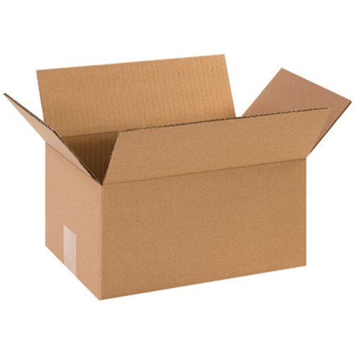 "Aviditi 1286 Corrugated Box, 12"" Length x 8"" Width x 6"" Height, Kraft (Bundle of 25) from Aviditi"
