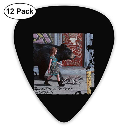 ElijahO Red Hot Chili Peppers The Getaway Celluloid Guitar Picks Plectrums (12 Pack) for Electric Guitar, Acoustic Guitar, Mandolin, and Guitar Bass ()