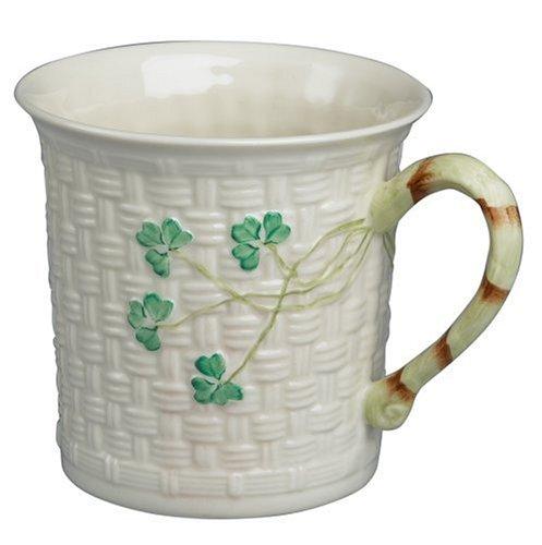 Belleek Shamrock Mug
