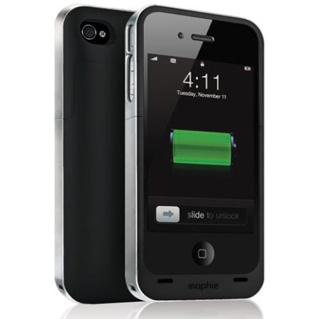 (mophie juice pack Air for iPhone 4/4s (1,700mAh) - Black)