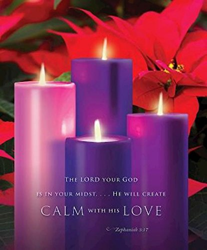 Read Online Calm with His Love Advent Sunday 4 Bulletin 2015, Large (Pkg of 50) pdf epub