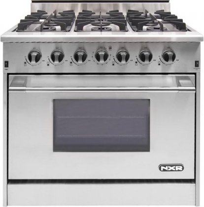 36 stainless steel gas range - 5
