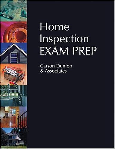 home inspection exam prep carson dunlop associates 9780793188550 rh amazon ca home inspector exam flashcard study system nc home inspector exam prep
