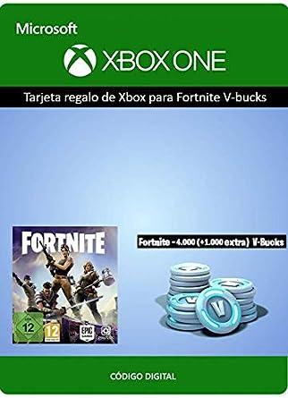 Tarjeta Regalo De Xbox Para Fortnite 4000 Pavos 1000