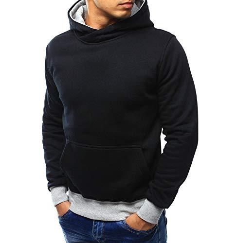Pour Manteau Pull Capuche Hommes Noir Sweat Outwear Nansiche À Chaud Sweat shirt 14wZzqI
