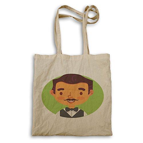 Tote Bag Happy Smiley Job P619r