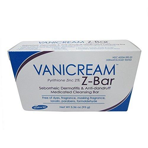 Vanicream Z-Bar Medicated Cleansing Bar - 3.36 oz, (Pack of 2)