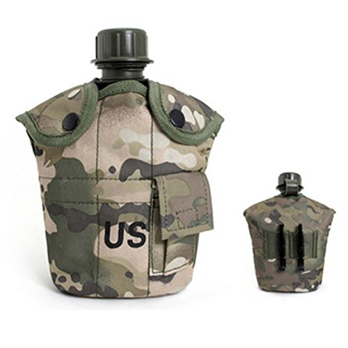 Outdoor Kettle,Thermal Insulation Aluminum Canteen Cup with Nylon Canteen Cover by - Sunglasses Top 10 Oakley