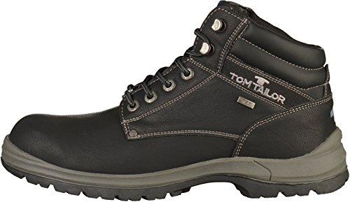 TOM TAILOR Herren 3781302 Klassische Stiefel Schwarz