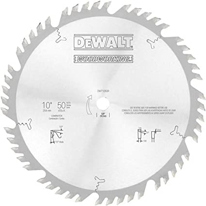 Dewalt DW03410-IN TCT Woodworking Blade 110mm 40T