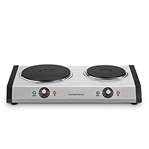 Cuisinart CB-60 Cast-Iron Double Burner : A hot deal on a hot plate