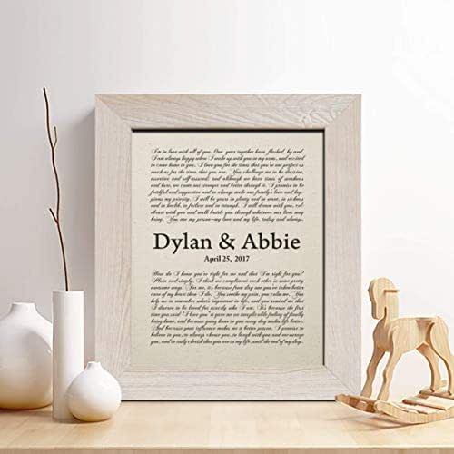Cotton Wedding Anniversary Gifts For Him: Amazon.com: Personalized 1st Anniversary Gift For Him Or
