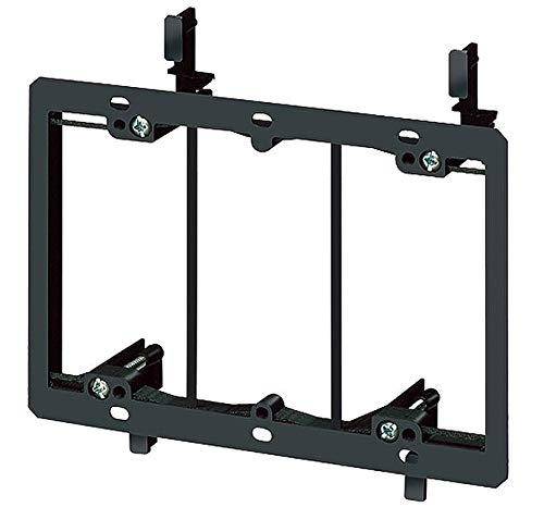 Arlington PVC Mounting Bracket, For Use With Low Voltage Class 2 Outlets - LV3, (Pack of 5)