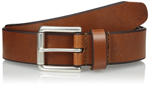 Dockers Men's 38mm Leather Bridle Belt, Tan, 30 - Mens Bridle