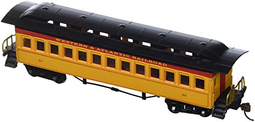 (Bachmann Industries 1860 - 1880 Passenger Cars - Coach - Western & Atlantic Railroad (HO)