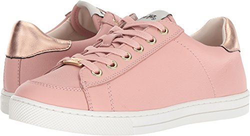 Coach Womens C126 Low Top Sneaker Peony/Rose Gold Leather