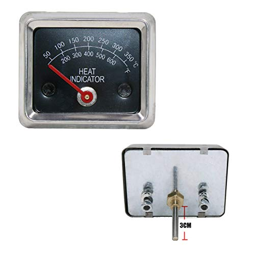 - Hisencn BBQ Barbecue Stainless Steel Grill Temperature Temp Gauge Thermometer Replacement for Ducane 30400040, 30400041, 30400042, 30400043, 30400045 Meat Cooking Heat Indicator