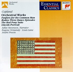 Image result for copland orchestral works philadelphia orchestra amazon