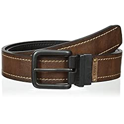 Levi's Men's Reversible Twist Buckle Bridle Belt