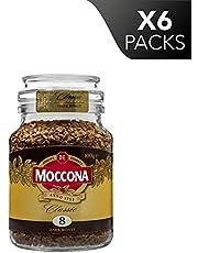 Moccona Coffee Classic Dark Roast Freeze Dried (100g x 6 Packs)