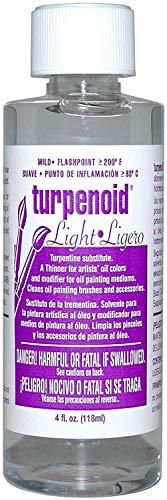 (Weber 1634 Turpenoid Light, 118ml Bottle, Clear)