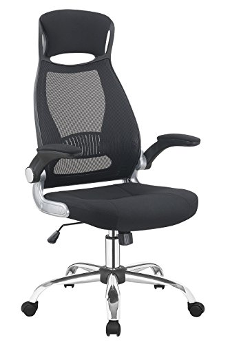 414EBgctnuL - New Ergonomic Executive Gaming Home Office Chair, High Back with Lumbar Support and Adjustable Armrest