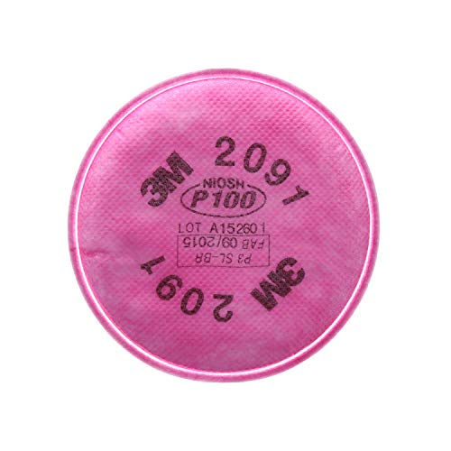 3M Particulate Filter 2091/07000, P100 Respiratory Protectio