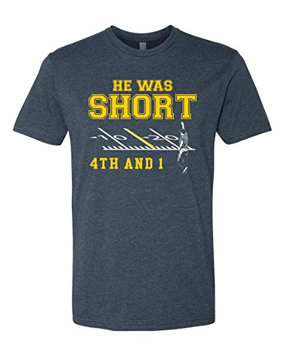 He Was Short Adult Unisex T-Shirt (Small) (Short Unisex Adult)