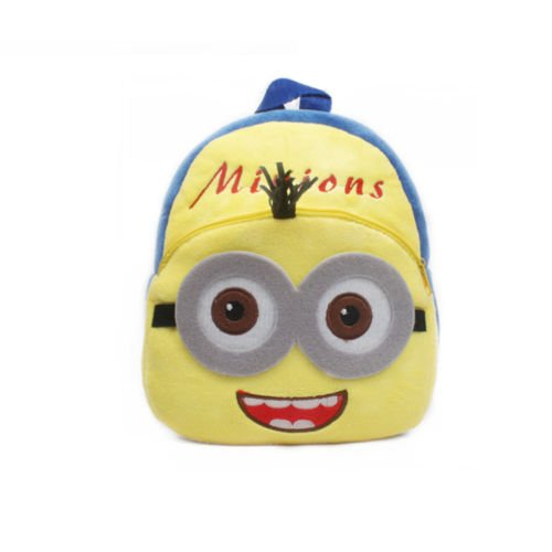 Backpack Schoolbag - Yellow Design Animal Cartoon Mini Backpack Schoolbag Shoulder Bag Suitable For Babies and Children - Perfect Birthday Gifts - For Kids (Minions (Yellow))