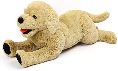 LotFancy Stuffed Animal Golden Retriever product image