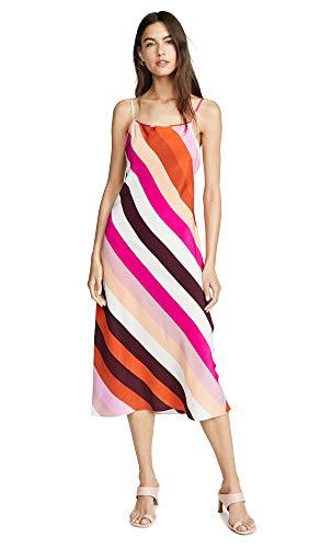 Diane von Furstenberg Women's Lea Dress, Carson Stripe Foxglove, Medium from Diane von Furstenberg