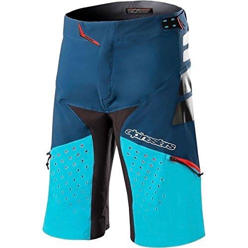 Alpinestars Drop Pro Shorts, Poseidon Blue Atoll, Size (32)