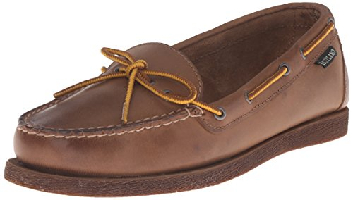 (Eastland Women's Yarmouth Camp Moc Slip-on, Natural, 7 M US)