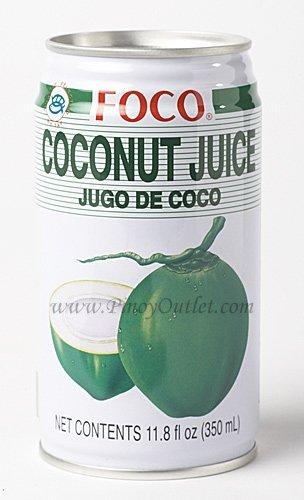 Foco coconut Juice 11.8oz (Pack of 10)